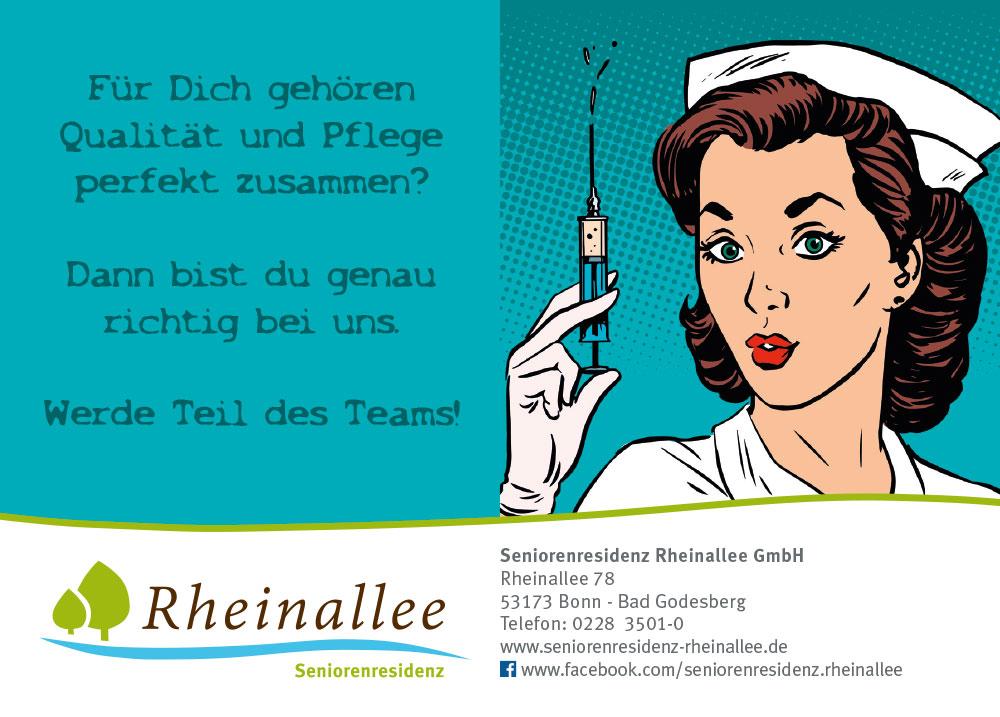 Karriere in der Rheinallee